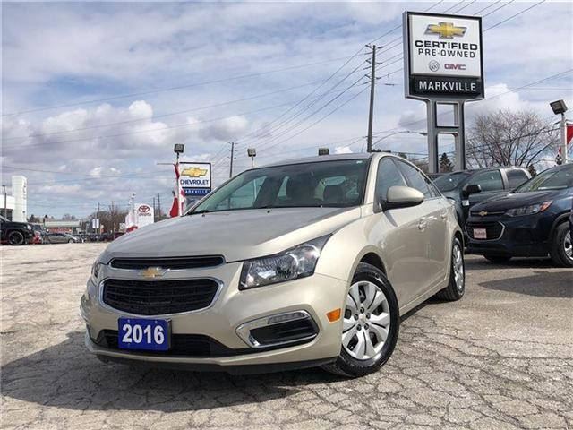 2016 Chevrolet Cruze LT- GM CERTIFIED PRE-OWNED - 1 OWNER TRADE (Stk: 120088A) in Markham - Image 9 of 20