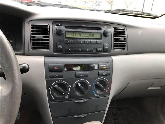 2006 Toyota Corolla CE (Stk: 26719) in Georgetown - Image 8 of 9