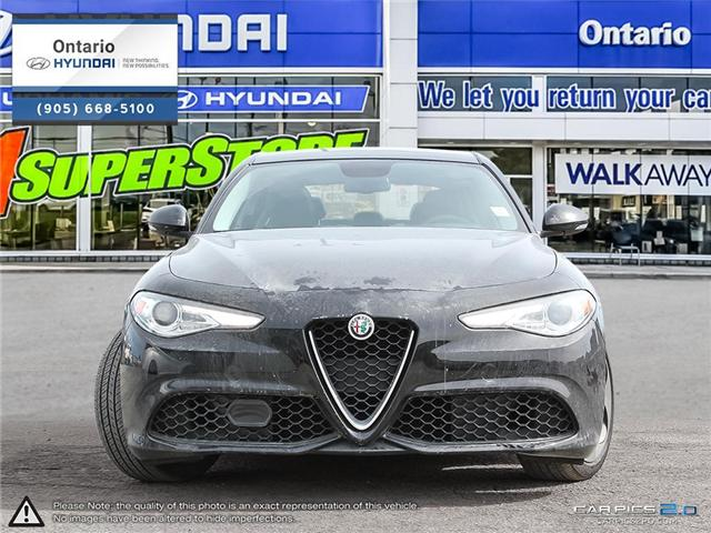 2017 Alfa Romeo Giulia SPORT AWD | Q4 | PANORAMIC ROOF | TECH + NAVI (Stk: 33311K) in Whitby - Image 2 of 27