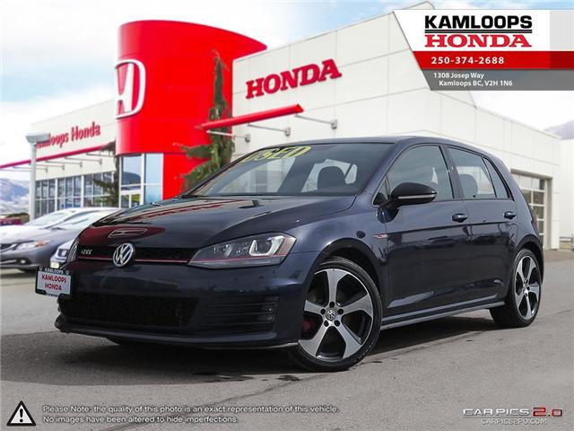 2017 Volkswagen Golf GTI 5-Door Autobahn (Stk: 13778A) in Kamloops - Image 1 of 25