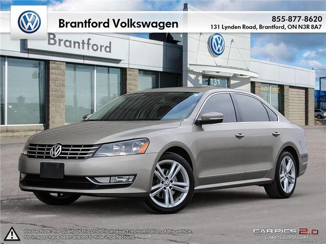 2015 Volkswagen Passat 2.0 TDI Highline (Stk: VC38018) in Brantford - Image 1 of 27