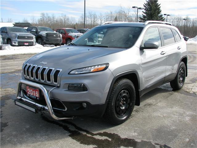 2015 Jeep Cherokee Limited (Stk: N18205A) in Timmins - Image 1 of 9