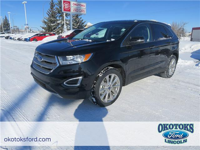 2018 Ford Edge Titanium (Stk: JK-248) in Okotoks - Image 1 of 5