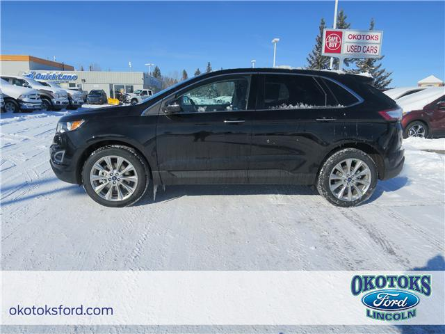 2018 Ford Edge Titanium (Stk: JK-248) in Okotoks - Image 2 of 5