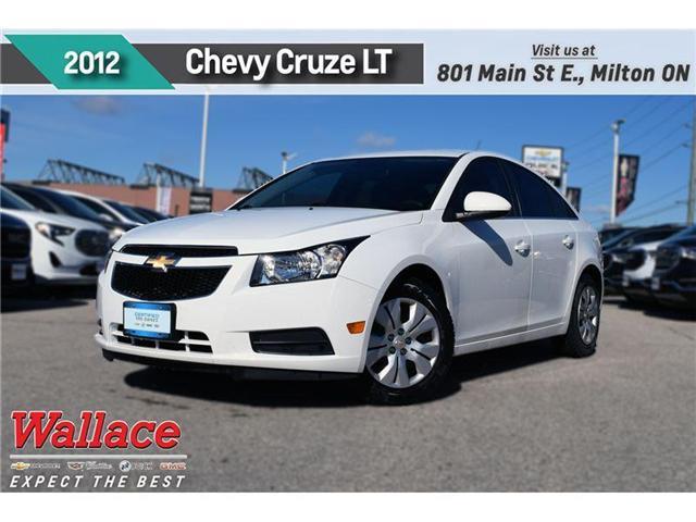 2012 Chevrolet Cruze LT Turbo/1-OWNER/CLN HSTRY/BLUTH/6-SPKR (Stk: 250516A) in Milton - Image 1 of 18