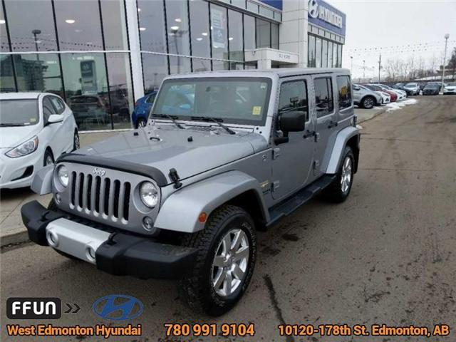 2015 Jeep Wrangler Unlimited Sahara (Stk: 80383A) in Edmonton - Image 2 of 23