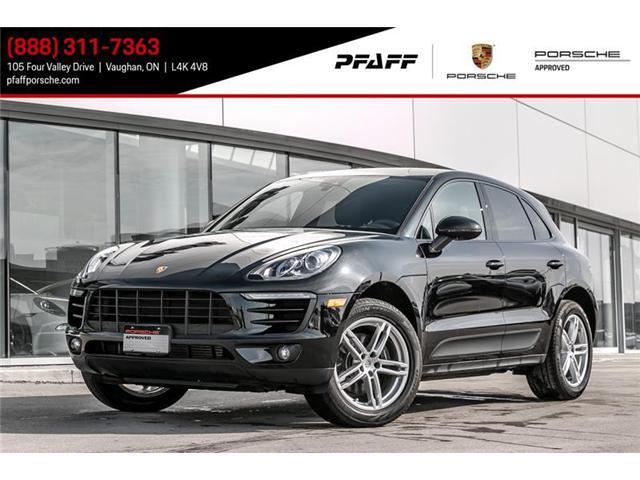 2017 Porsche Macan  (Stk: U6946) in Vaughan - Image 1 of 12