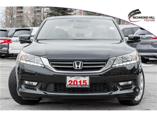 2015 Honda Accord Touring (Stk: 180579A) in Richmond Hill - Image 2 of 21