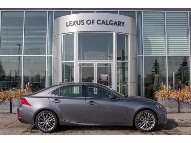 2017 Lexus IS 300 Base (Stk: 3776A) in Calgary - Image 1 of 14