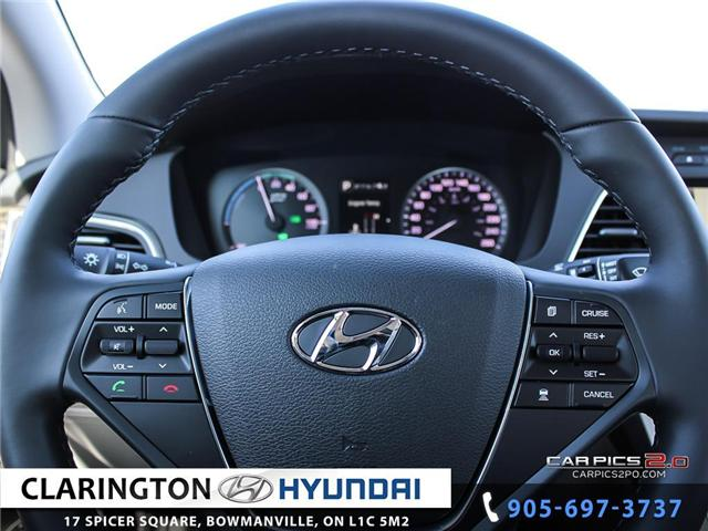 2017 Hyundai Sonata Plug-In Hybrid Ultimate (Stk: 18118) in Clarington - Image 7 of 27