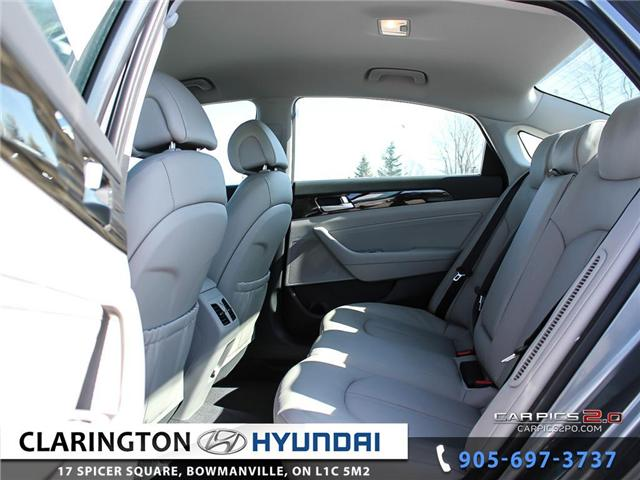 2017 Hyundai Sonata Plug-In Hybrid Ultimate (Stk: 18118) in Clarington - Image 18 of 27