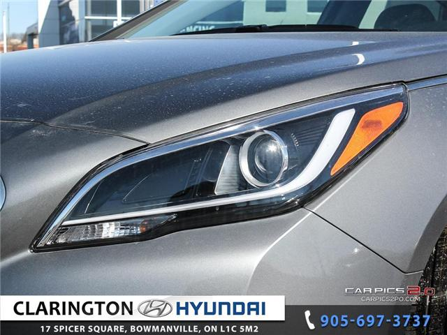 2017 Hyundai Sonata Plug-In Hybrid Ultimate (Stk: 18118) in Clarington - Image 25 of 27