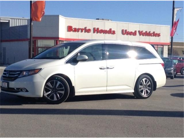 2015 Honda Odyssey Touring (Stk: U15177) in Barrie - Image 1 of 29