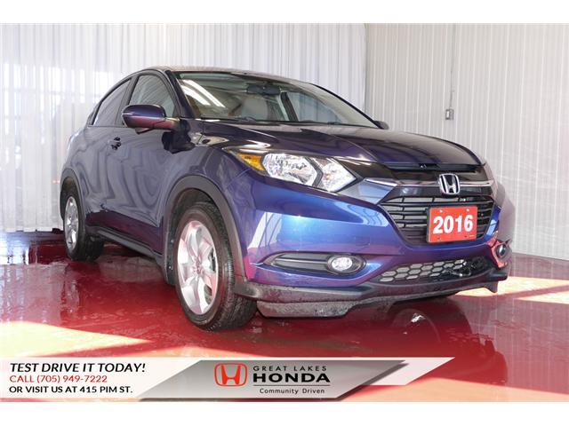 2016 Honda HR-V EX (Stk: H5802A) in Sault Ste. Marie - Image 1 of 24