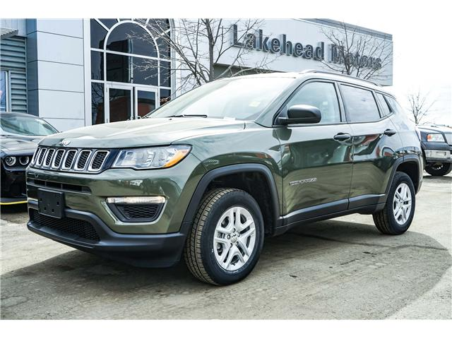 2018 Jeep Compass Sport (Stk: 181009) in Thunder Bay - Image 1 of 9
