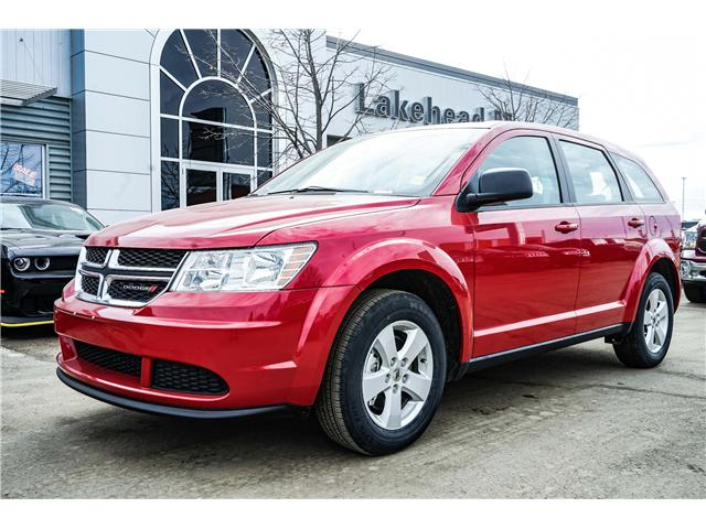 2018 Dodge Journey SXT (Stk: 181349) in Thunder Bay - Image 1 of 10