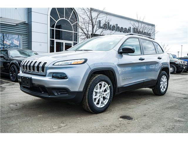 2018 Jeep Cherokee North (Stk: 181033) in Thunder Bay - Image 1 of 8
