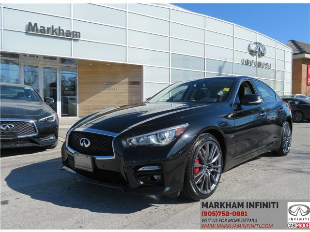 2017 Infiniti Q50 3.0t Red Sport 400 (Stk: P2943) in Markham - Image 1 of 18