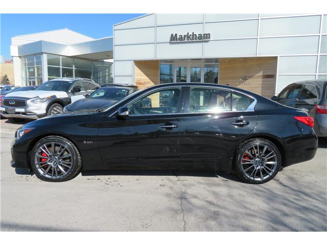 2017 Infiniti Q50 3.0t Red Sport 400 (Stk: P2943) in Markham - Image 2 of 18