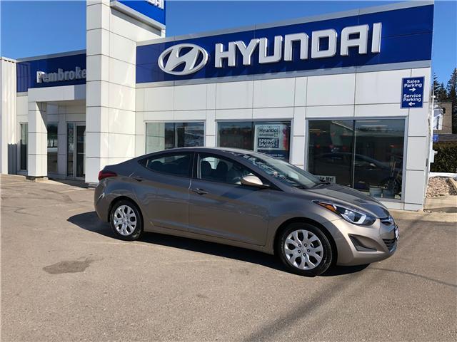 2014 Hyundai Elantra GL (Stk: 17659-1) in Pembroke - Image 1 of 1