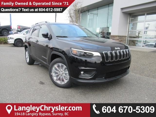 2019 Jeep Cherokee North (Stk: K119401) in Surrey - Image 1 of 13