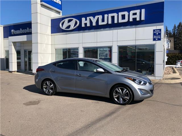 2015 Hyundai Elantra GLS (Stk: 18094-2) in Pembroke - Image 1 of 1