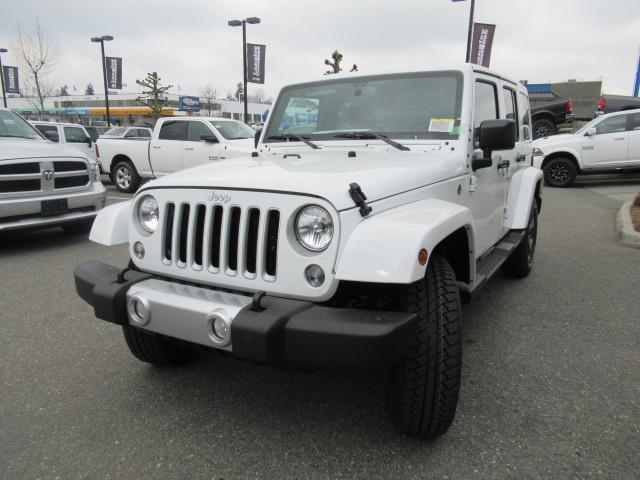 2018 Jeep Wrangler JK Unlimited Sahara (Stk: J864085) in Surrey - Image 3 of 12