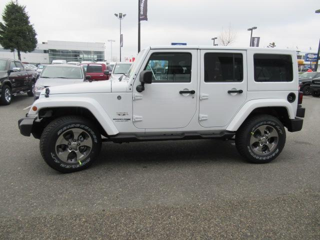 2018 Jeep Wrangler JK Unlimited Sahara (Stk: J864085) in Surrey - Image 4 of 12