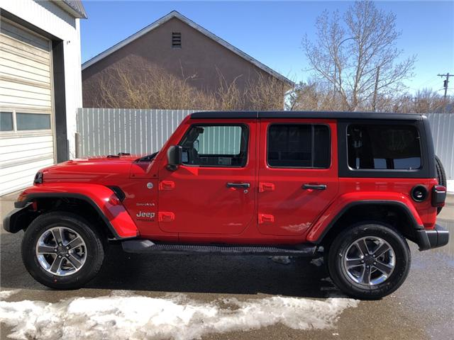 2018 Jeep Wrangler Unlimited Sahara (Stk: 12679) in Fort Macleod - Image 2 of 19