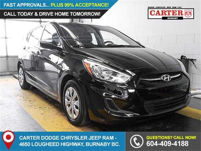 2017 Hyundai Accent  (Stk: 9-5829-0) in Burnaby - Image 1 of 24