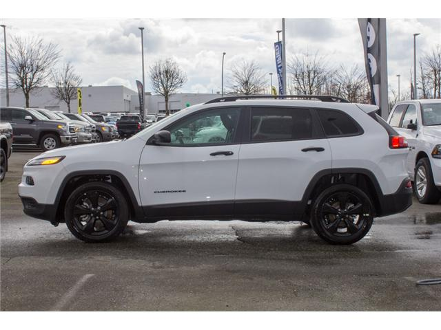 2018 Jeep Cherokee Sport (Stk: J525024) in Abbotsford - Image 4 of 30