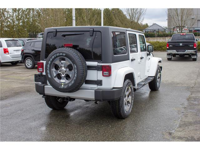 2018 Jeep Wrangler JK Unlimited Sahara (Stk: J863973) in Abbotsford - Image 7 of 28