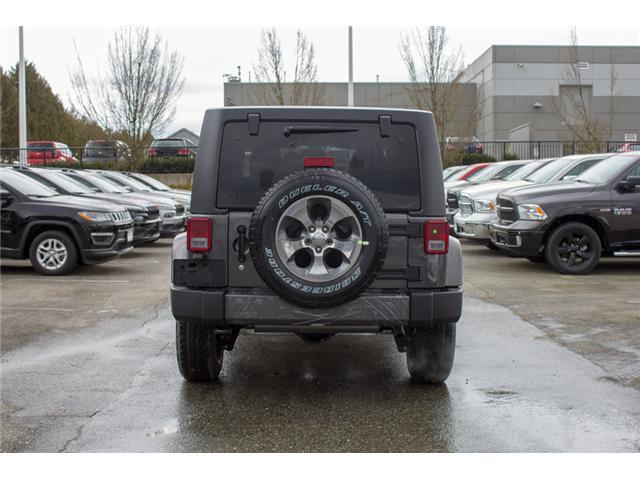 2018 Jeep Wrangler JK Unlimited Sahara (Stk: J863975) in Abbotsford - Image 6 of 30