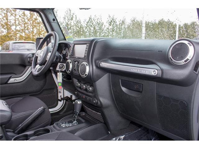 2018 Jeep Wrangler JK Unlimited Sahara (Stk: J863973) in Abbotsford - Image 17 of 28