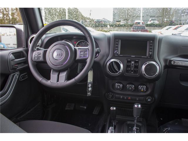 2018 Jeep Wrangler JK Unlimited Sahara (Stk: J863975) in Abbotsford - Image 18 of 30