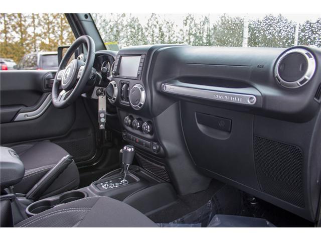 2018 Jeep Wrangler JK Unlimited Sahara (Stk: J863975) in Abbotsford - Image 20 of 30