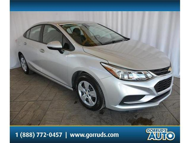 2017 Chevrolet Cruze LS Auto (Stk: 542227) in Milton - Image 1 of 42