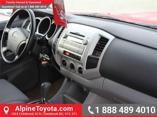 2009 Toyota Tacoma V6 (Stk: X115811A) in Cranbrook - Image 11 of 16