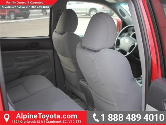 2009 Toyota Tacoma V6 (Stk: X115811A) in Cranbrook - Image 12 of 16