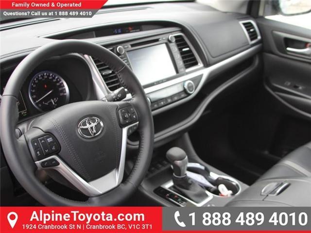 2018 Toyota Highlander LE (Stk: S537608) in Cranbrook - Image 9 of 19
