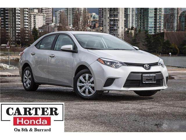 2014 Toyota Corolla  (Stk: B46720) in Vancouver - Image 1 of 26