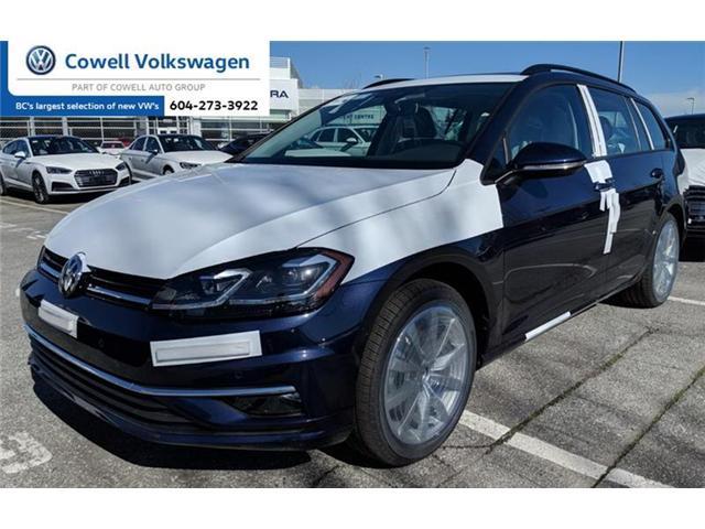 2018 Volkswagen Golf 1.8 TSI Highline (Stk: VWQJ6968) in Richmond - Image 1 of 2