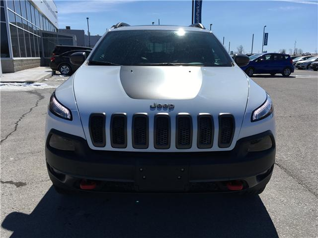 2017 Jeep Cherokee Trailhawk (Stk: 17-45519RMB) in Barrie - Image 2 of 30