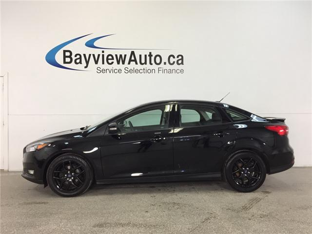 2016 Ford Focus SE- 5 SPEED ALLOYS ROOF HTD STS A/C REV CAM SYNC! (Stk: 32100J) in Belleville - Image 1 of 27