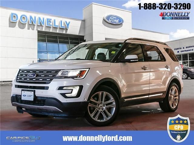 2017 Ford Explorer Limited (Stk: DUR5610) in Ottawa - Image 1 of 28