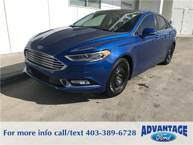 2017 Ford Fusion SE (Stk: J-250A) in Calgary - Image 1 of 10