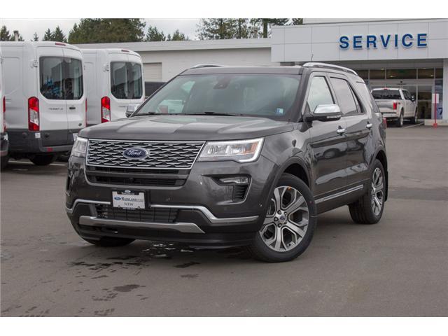 2018 Ford Explorer Platinum (Stk: 8EX6352) in Surrey - Image 3 of 30