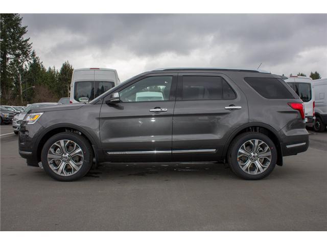 2018 Ford Explorer Platinum (Stk: 8EX6352) in Surrey - Image 4 of 30