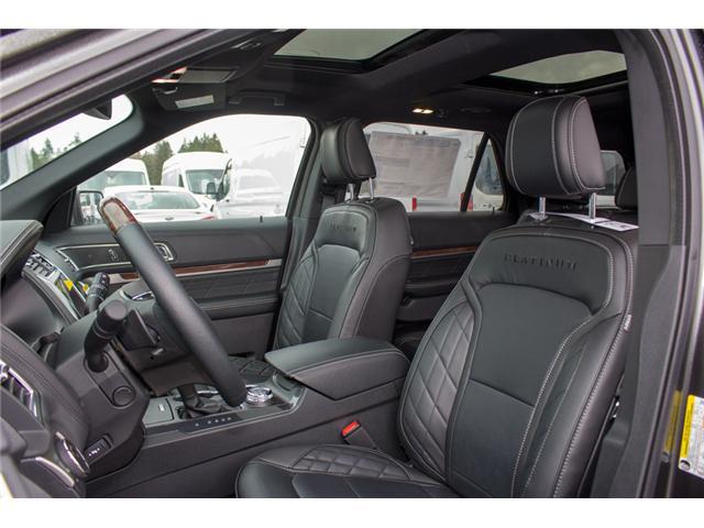 2018 Ford Explorer Platinum (Stk: 8EX6352) in Surrey - Image 14 of 30