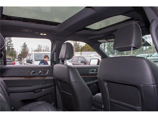 2018 Ford Explorer Platinum (Stk: 8EX6352) in Surrey - Image 17 of 30